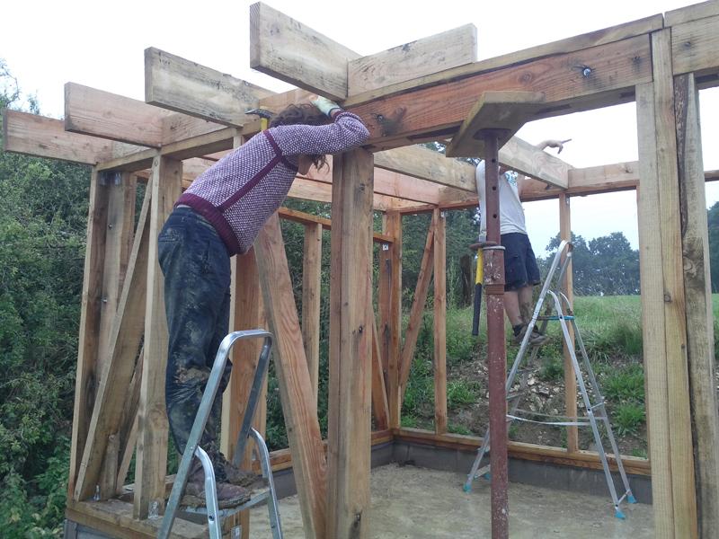 Les chantiers se poursuivent tout l'été à La Hardonnerie