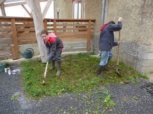 ferme, bénévolat, refuge, La Hardonnerie, WELFARM, bénévoles, chantier