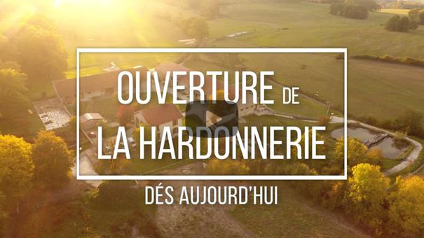 OUVERTURE DE LA HARDONNERIE MERCREDI 19 MAI 2021